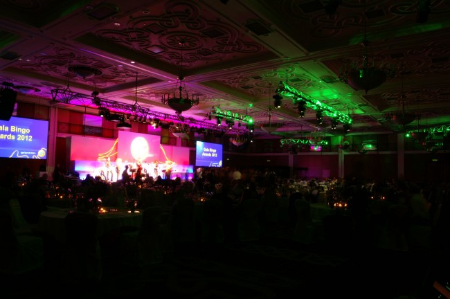 Gala Bingo Awards 2012